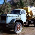 magirus deutz,concrete mixer,203d