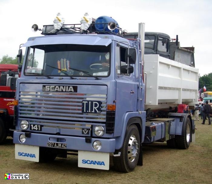 Scania 141 4x2 R O R Container Ferte Allais Expo