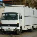 Mercedes living vehicle