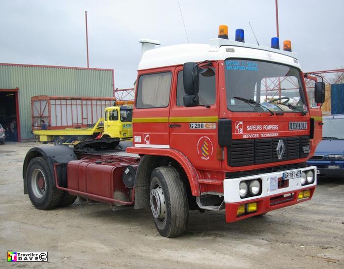 ex pompier 39 s g290 gt tractor unit avignon 2011 traveller dave. Black Bedroom Furniture Sets. Home Design Ideas